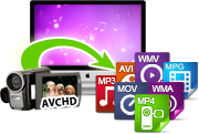 convert AVCHD recorded files