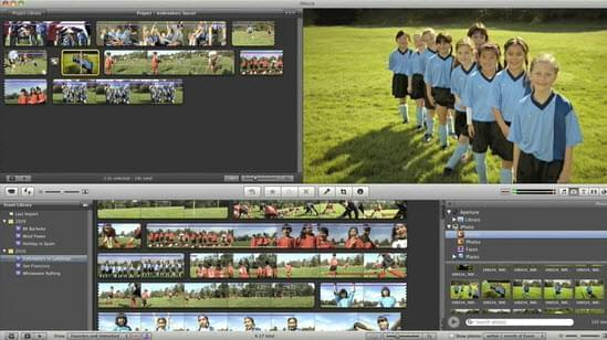 add image to video with iMovie