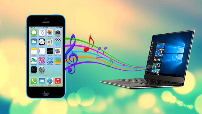 Copy iPhone songs to PC