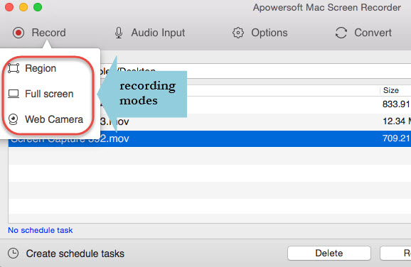 record live stream video Mac