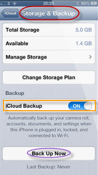 save contact list from iPhone to PC from iCloud