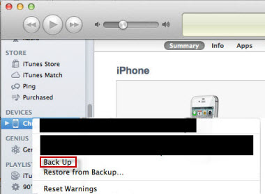 save iPhone contacts to PC from iTunes backup