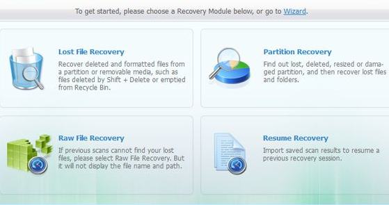 Data Recovery modes