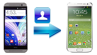 transfer contacts HTC to Samsung Galaxy S5