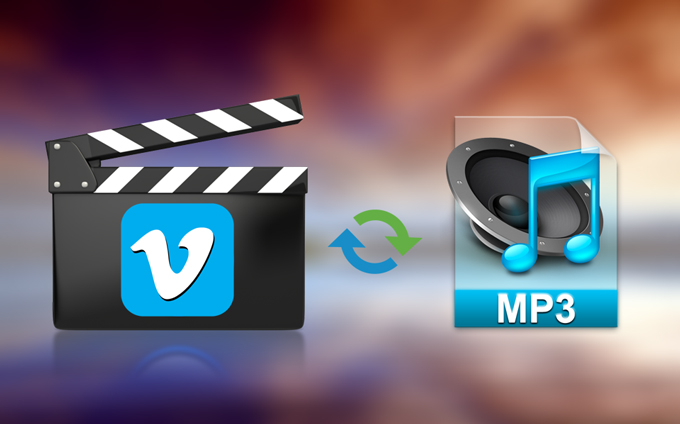 convert vimeo to MP3