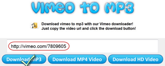 vimeo to mp3 site