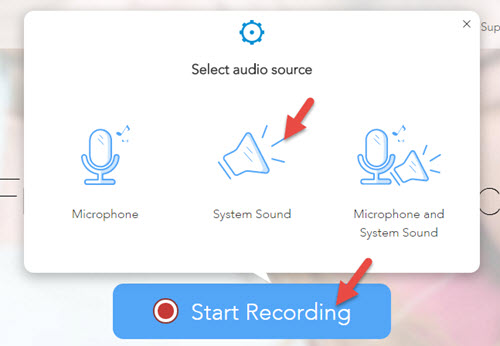 audio source