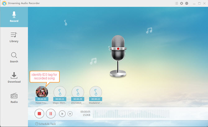 recording apple music to mp3