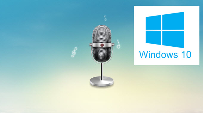 record audio win 10