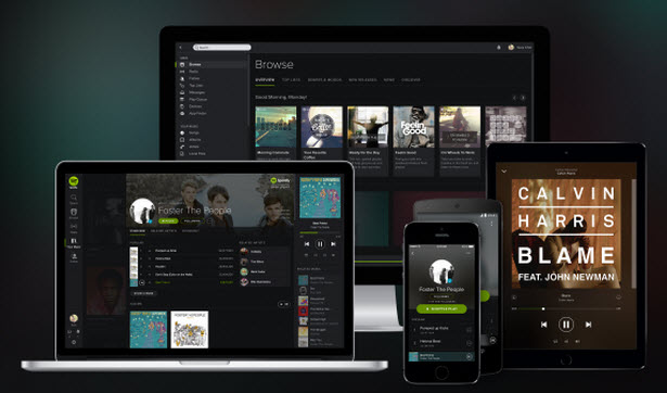 spotify for devices