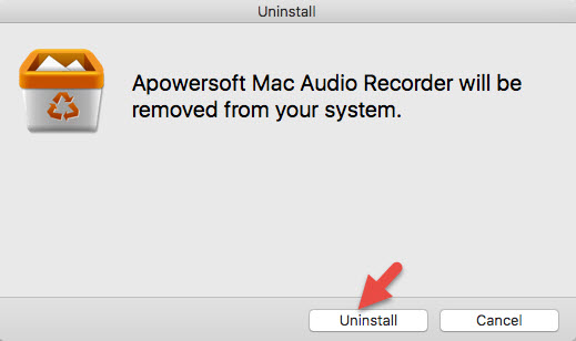 Uninstall recorder