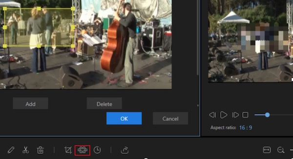 add mosaic to video
