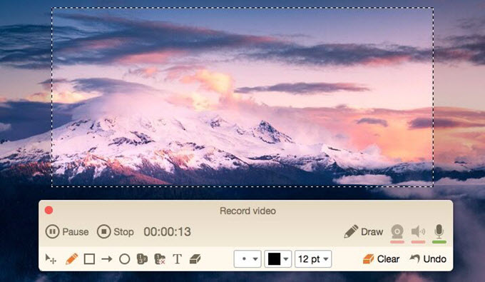 screen recording program for macOS Sierra