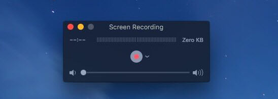 screen recorder for macOS Sierra