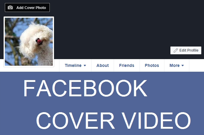 make fb cover video