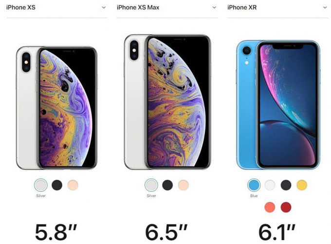 Design or iPhone XS, XS Max and XR
