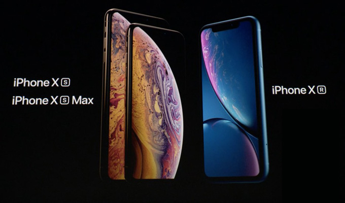 iPhone XS, XS Max or XR
