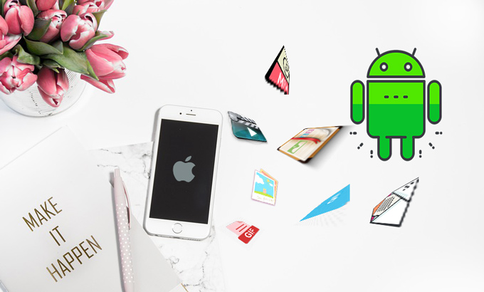 transfer data iphone to android