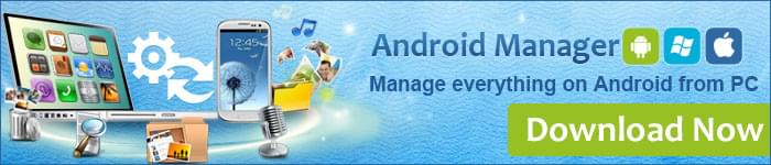 Android manager ads