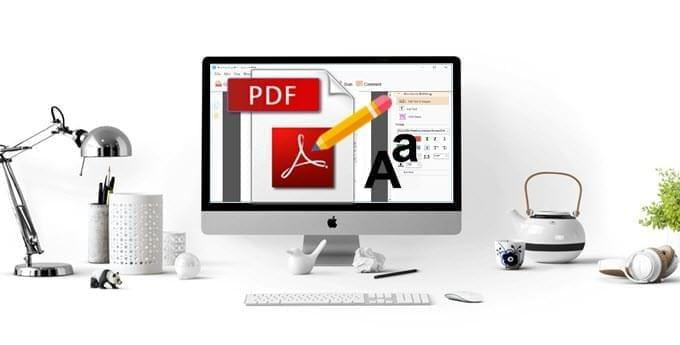 Edit text in PDF