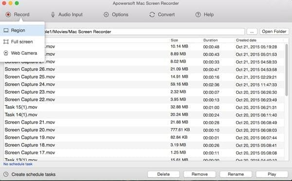 mac apowersoft screen recorder