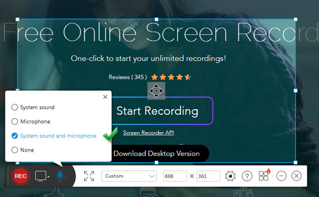 recorder for making videos