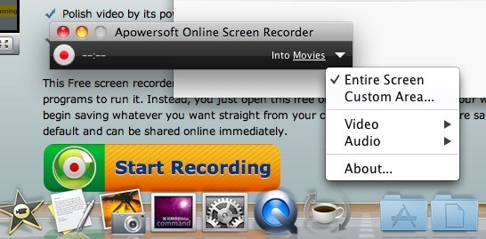 mac screen recorder online