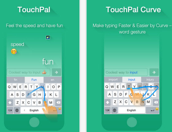 TouchPal X Keyboard screenshot