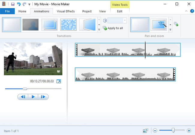 imovie special effects 2016