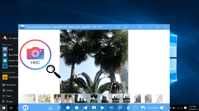 free HEIC image viewer