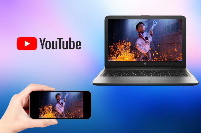 mirror youtube videos from android to pc