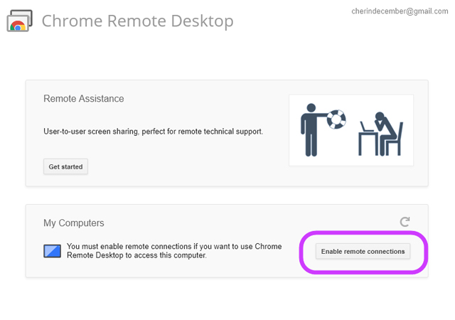 enable remote