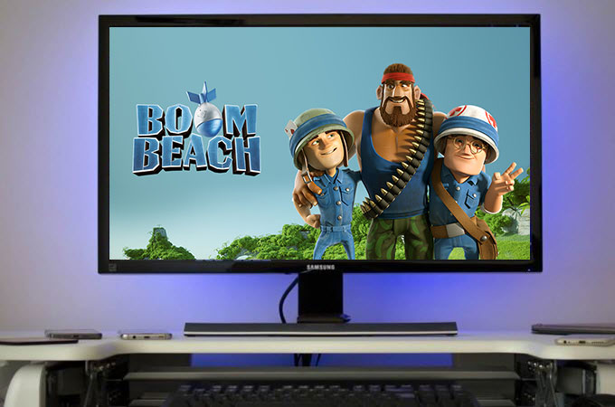 play boom beach on pc