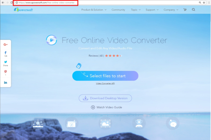 apowersoft free online video converter official site