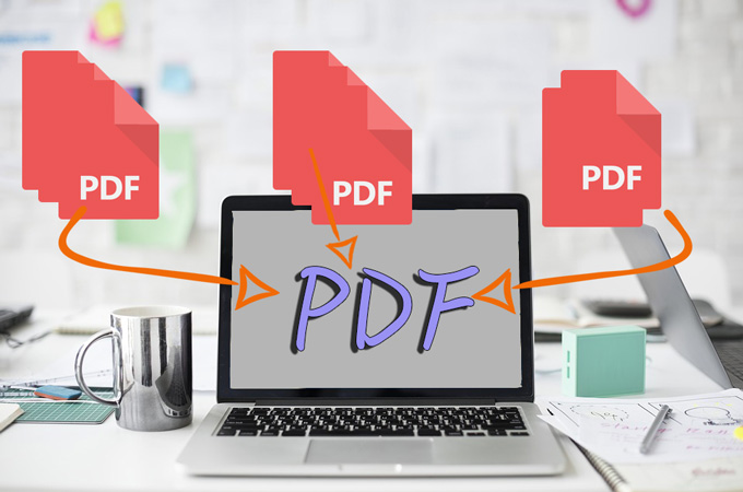 Merge PDF Pages