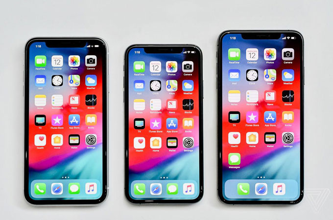 Difference between iPhone XS, XS Max and XR