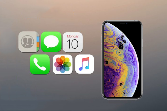How to restore iPhone XS from backup