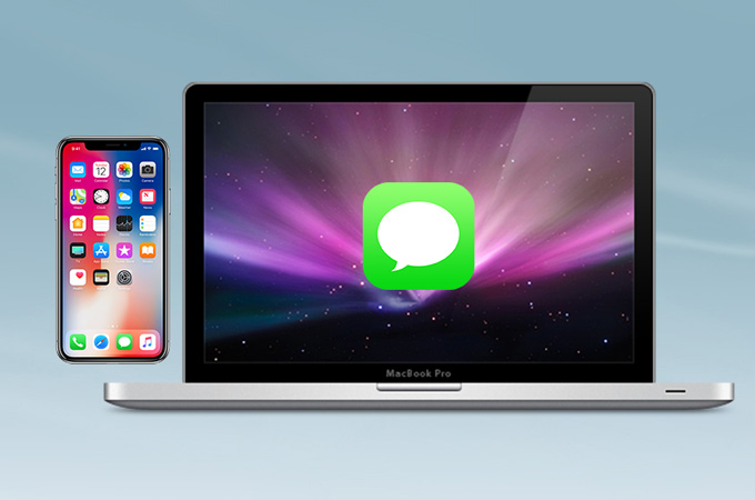 Sync messages between iPhone and mac