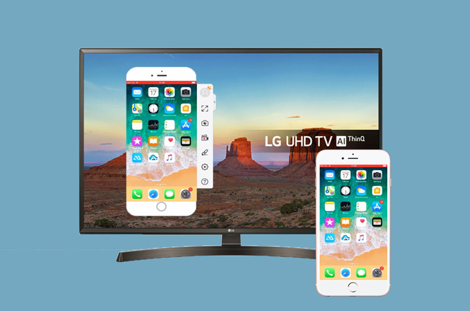 How to Mirror iPhone to LG TV with ApowerMirror